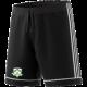 Lindsell CC Adidas Black Junior Training Shorts