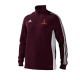 Milstead CC Adidas Maroon Junior Training Top