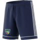 Warriors CC Adidas Navy Junior Training Shorts