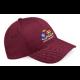 Oakwood Park Grammar School CC Maroon Baseball Cap