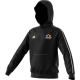 Oakwood Park Grammar School CC Adidas Black Fleece Hoody