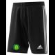 West Bergholt CC Adidas Black Junior Training Shorts