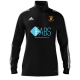 Ramsey CC Adidas Black Zip Junior Training Top (new)