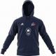 Tamworth CC Adidas Navy Junior Fleece Hoody