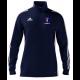 Merthyr CC Adidas Navy Zip Junior Training Top