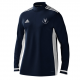 Staines and Laleham CC Adidas Navy Training Top