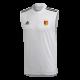 Walton Park CC Adidas White Training Vest