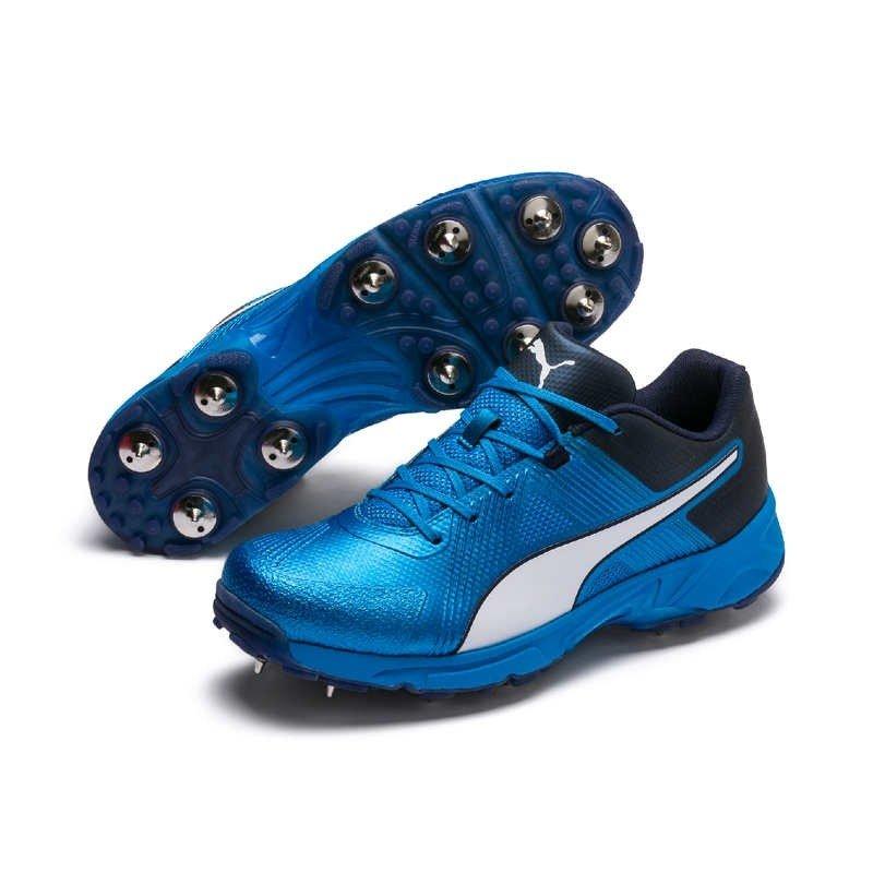 2019 Puma 19 1 Spike Cricket Shoes Blue