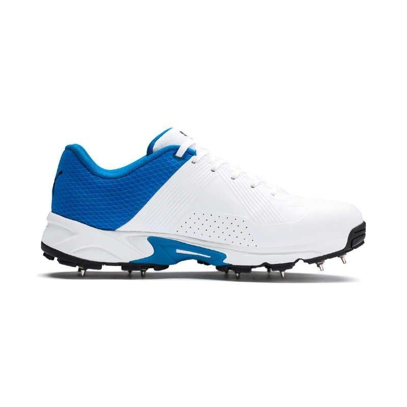2019 Puma 19.2 Spike Cricket Shoes - White