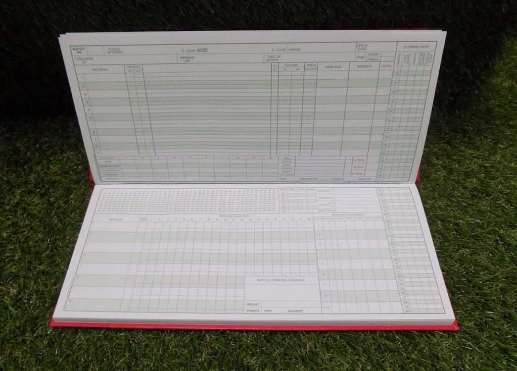 Kookaburra 60 Innings Cricket Scorebook