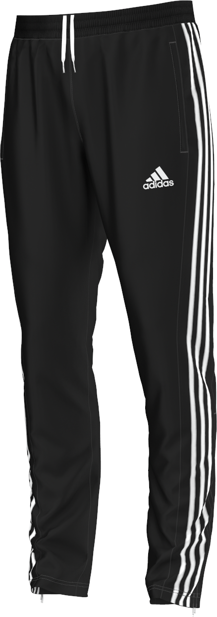 Ribblesdale Wanderers Cricket and Bowling Club Adidas Black Junior Training Pants