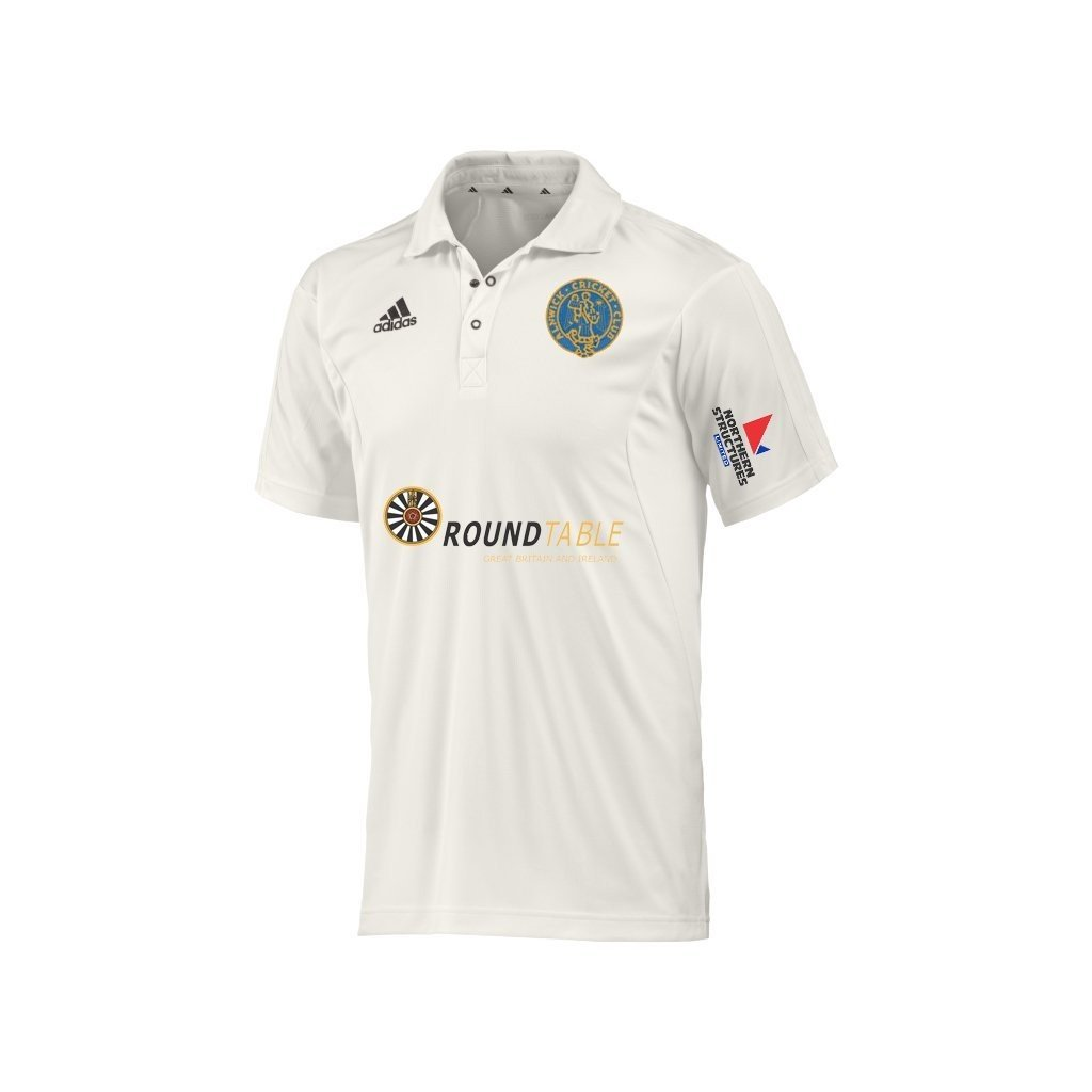 Alnwick Cricket Club Adidas S-S Playing Shirt
