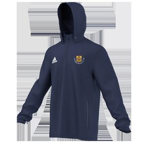 Acomb CC Adidas Navy Rain Jacket