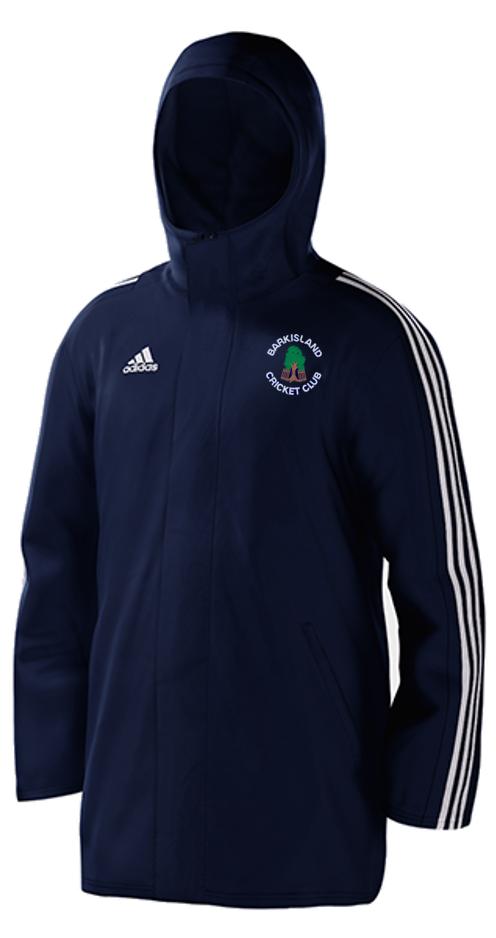Barkisland CC Navy Adidas Stadium Jacket