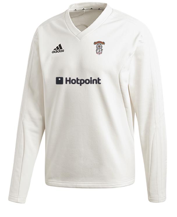 Barnoldswick CC Adidas Elite Long Sleeve Sweater