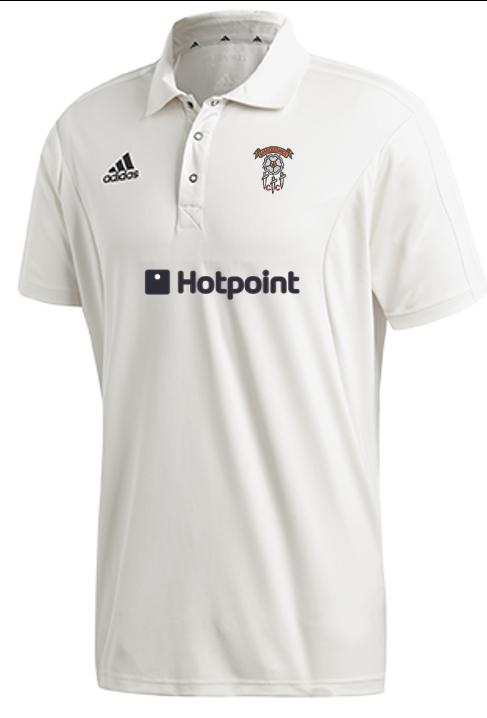 Barnoldswick CC Adidas Elite Junior Short Sleeve Shirt