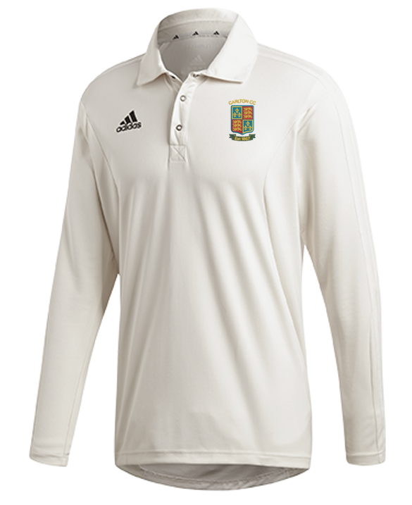Carlton CC Adidas Elite Long Sleeve Shirt