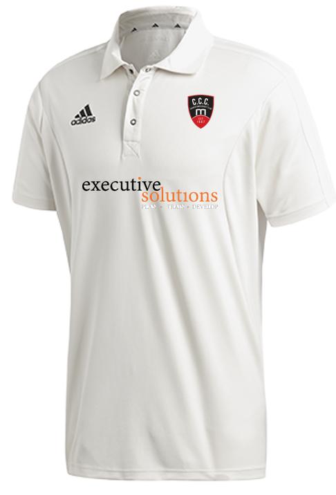 Churchtown CC Adidas Elite Junior Short Sleeve Shirt