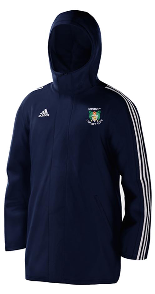 Didsbury CC Navy Adidas Stadium Jacket