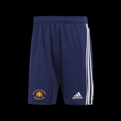 Knockin and Kinnerley CC Adidas Navy Training Shorts