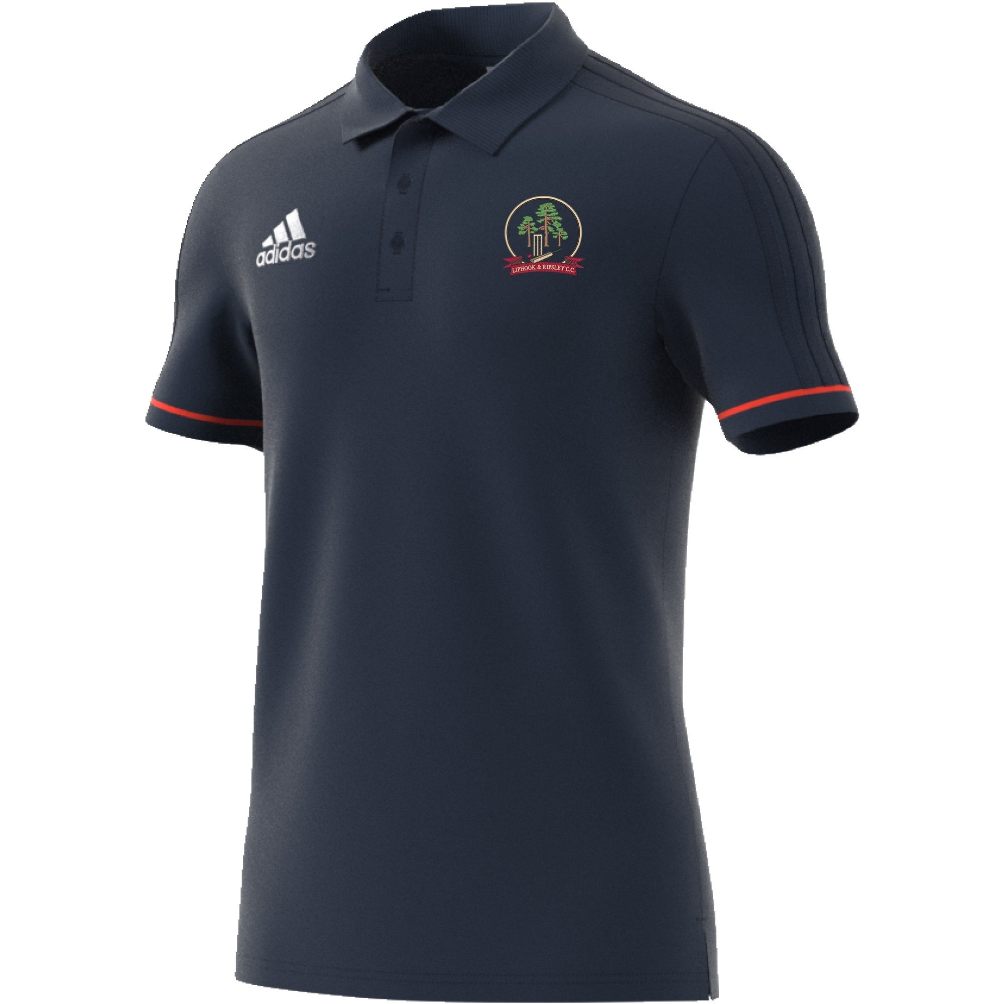 Liphook and Ripsley CC Adidas Navy Polo Shirt