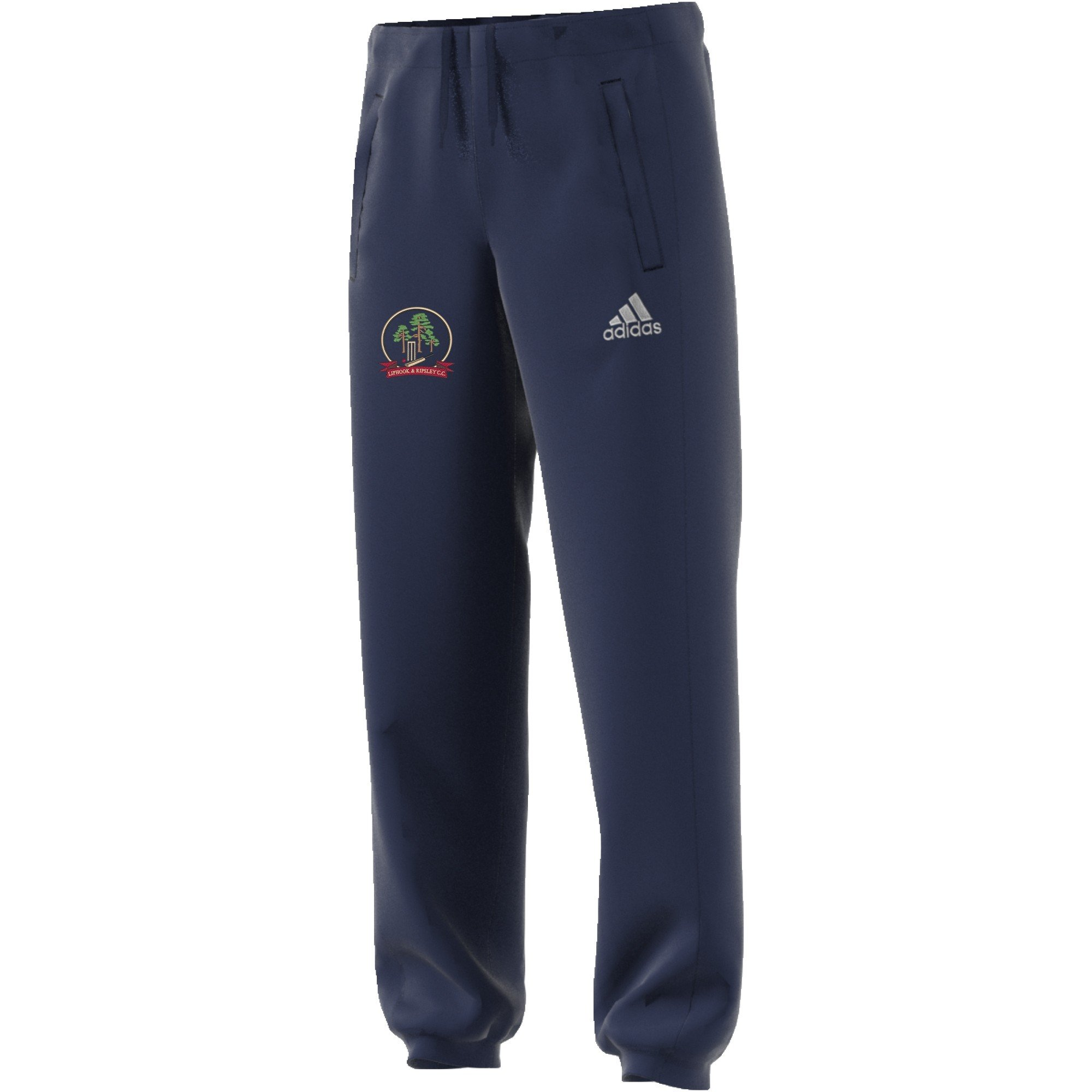 Liphook and Ripsley CC Adidas Navy Sweat Pants