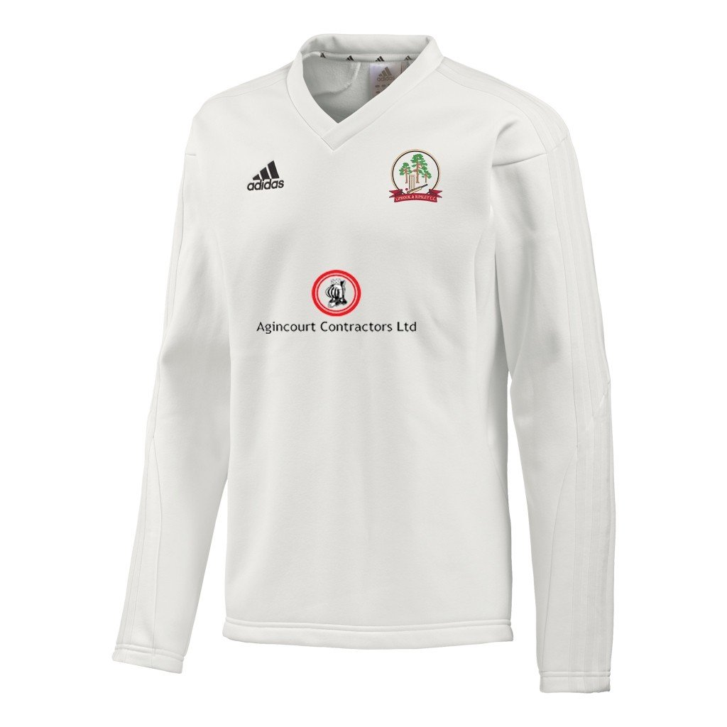 Liphook and Ripsley CC Adidas L-S Playing Sweater