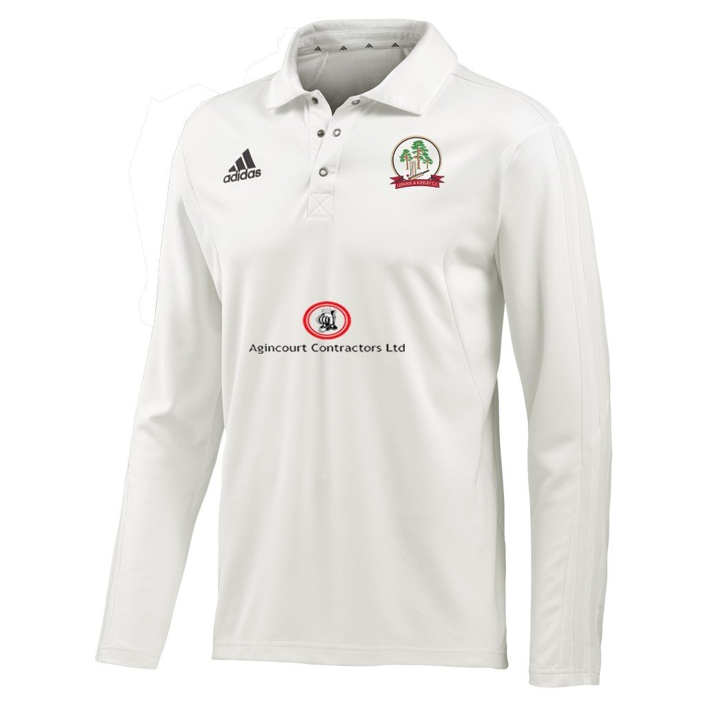 Liphook and Ripsley CC Adidas L-S Playing Shirt