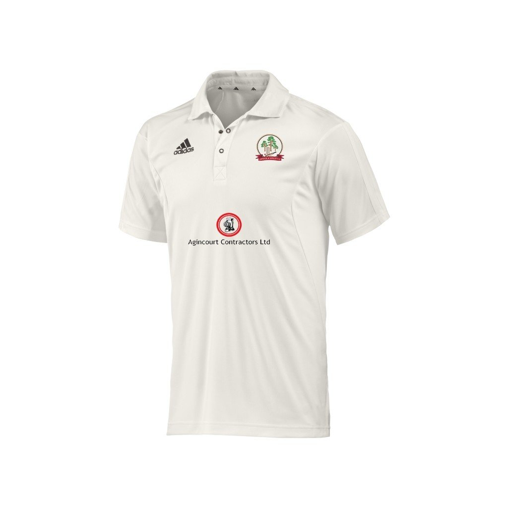 Liphook and Ripsley CC Adidas S-S Playing Shirt