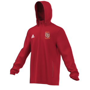 Methley CC Adidas Red Rain Jacket