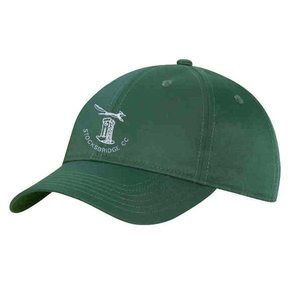 Stocksbridge CC Green Baseball Cap
