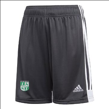 Uffington CC Adidas Black Junior Training Shorts