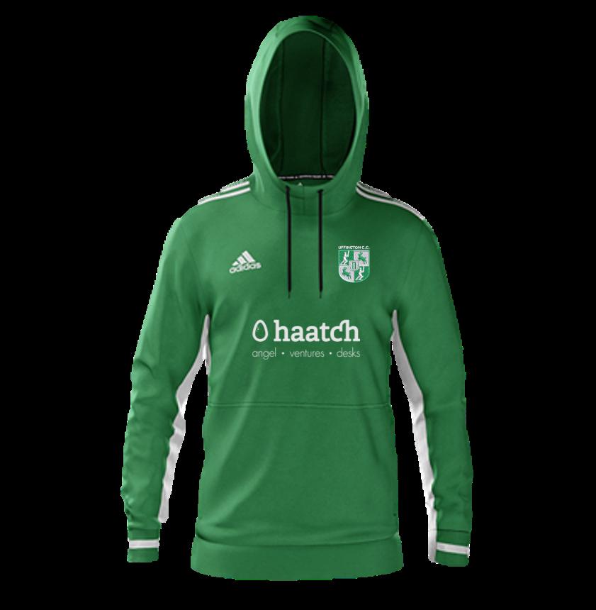 Uffington CC Adidas Green Hoody