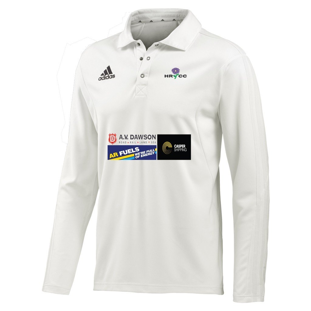 Hutton Rudby CC Adidas L-S Playing Shirt