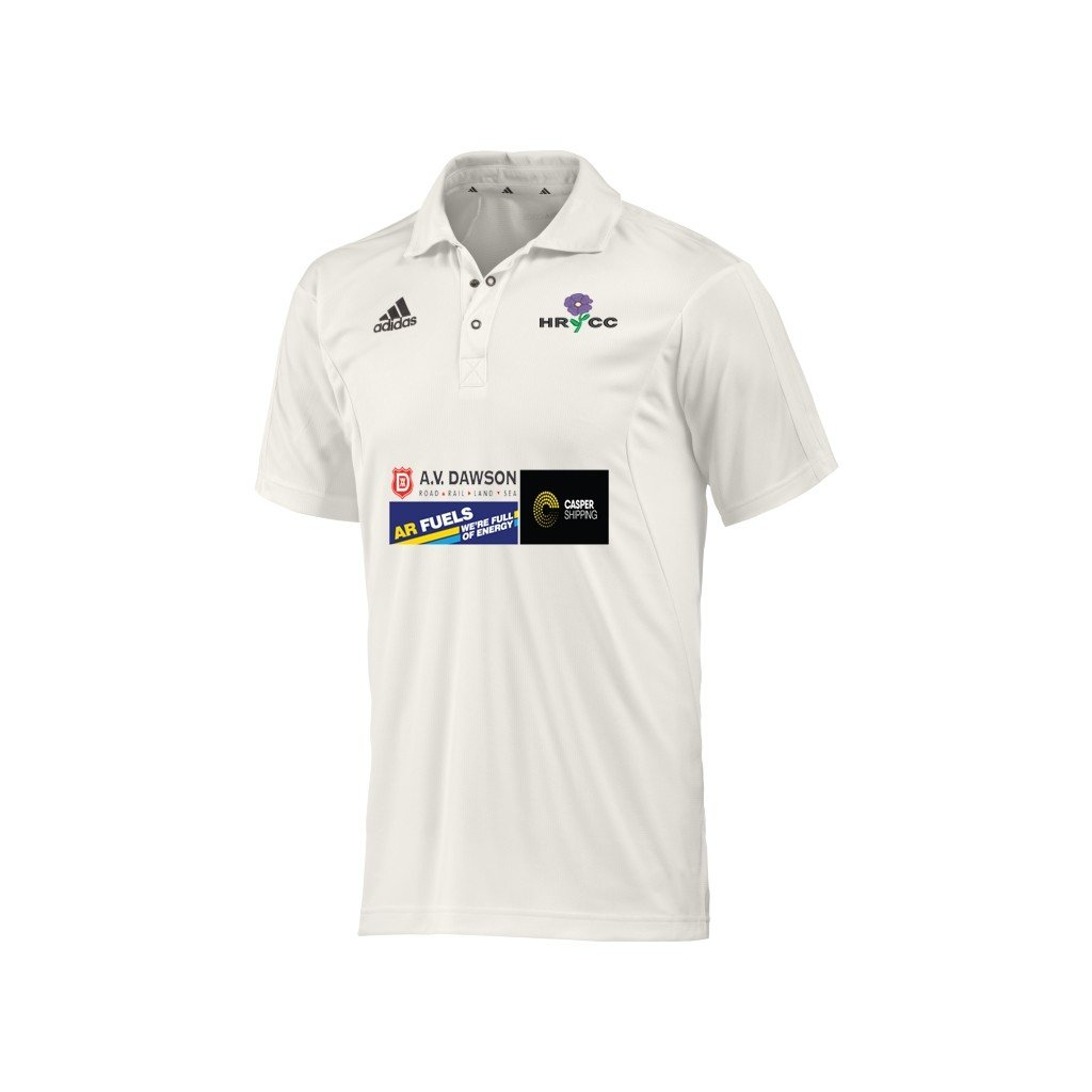 Hutton Rudby CC Adidas Junior Playing Shirt