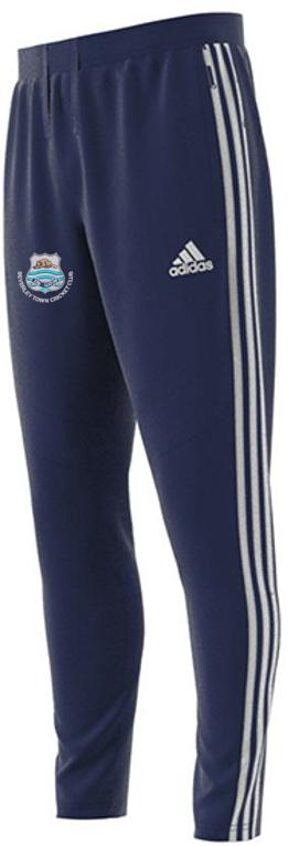 Beverley Town CC Adidas Navy Training Pants