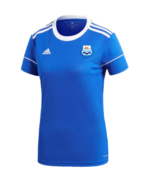 Beverley Town CC Adidas Womens Royal Blue Playing Jersey