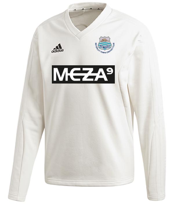 Beverley Town CC Adidas Elite Long Sleeve Sweater