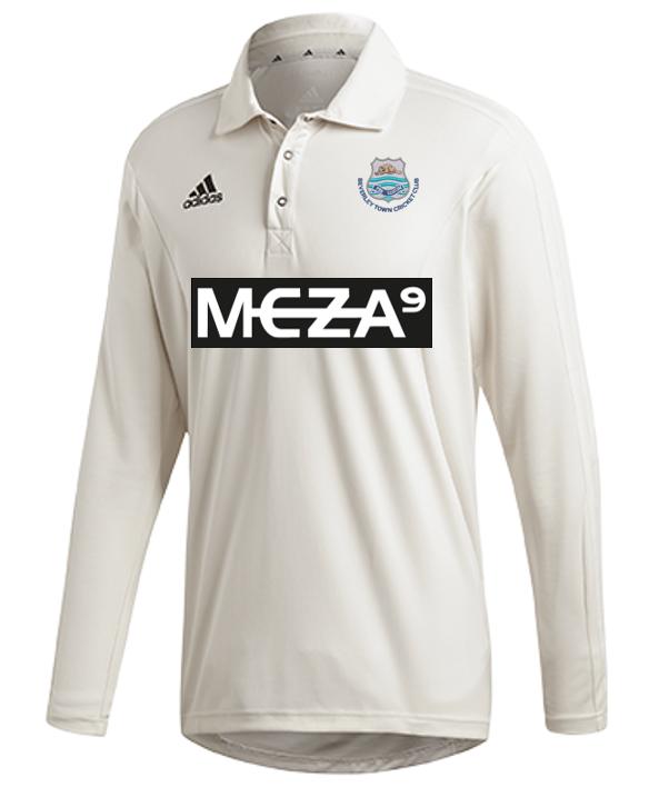 Beverley Town CC Adidas Elite Long Sleeve Shirt