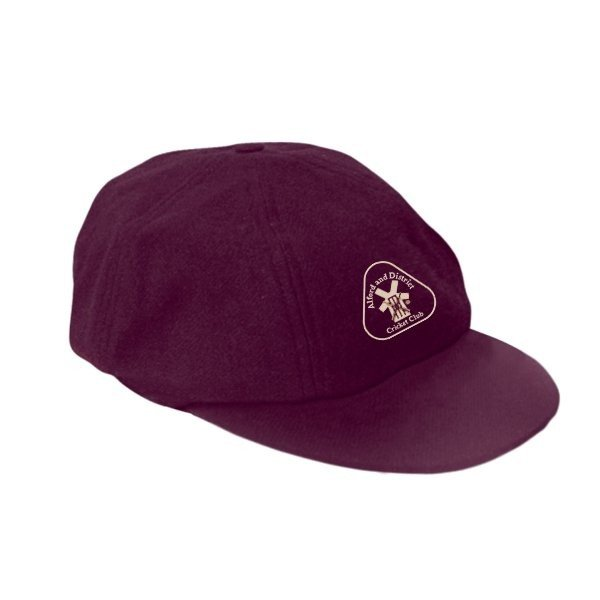 Alford and District CC Albion Maroon Baggy Cap