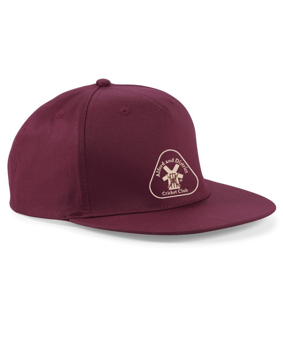 Alford and District CC Adidas Maroon Snapback Hat
