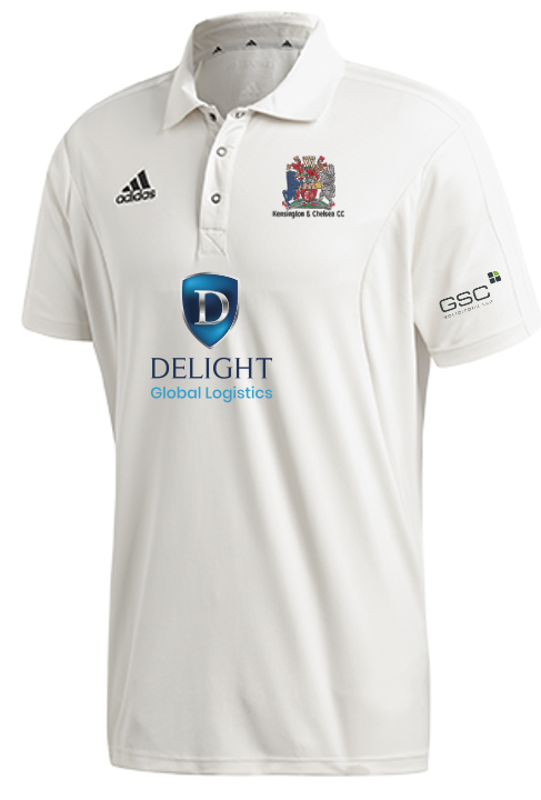 Kensington & Chelsea CC Adidas Elite Junior Short Sleeve Shirt