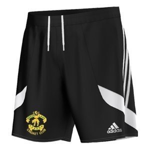 Green Lane CC Adidas Black Training Shorts