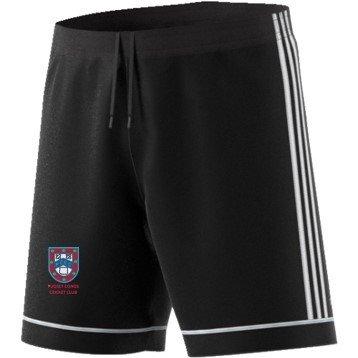 Pudsey Congs Adidas Black Training Shorts