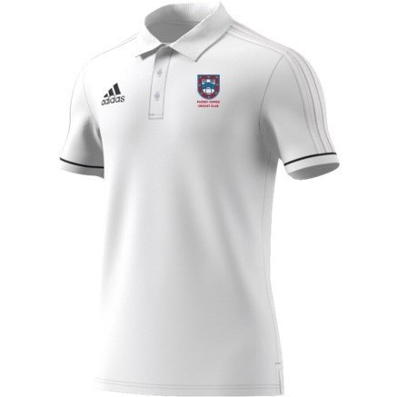 Pudsey Congs Adidas White Polo