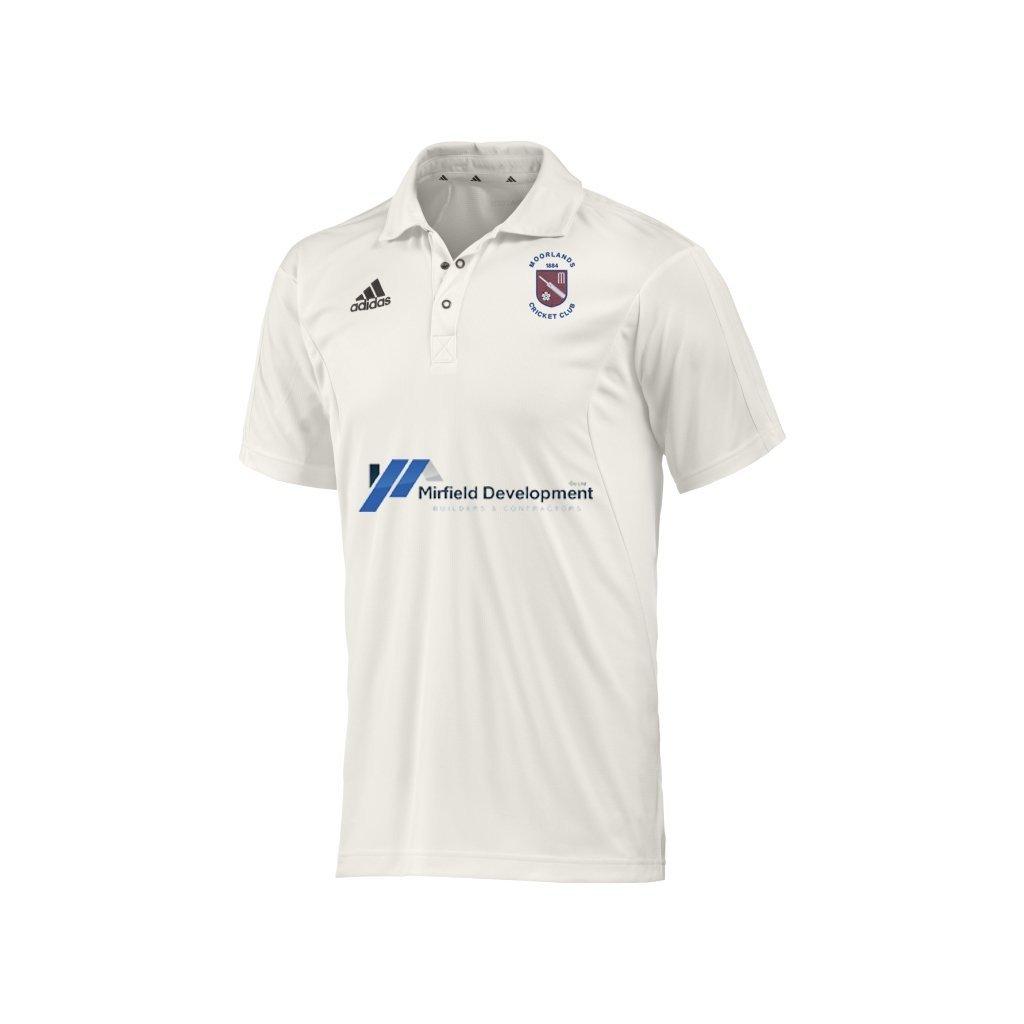 Moorlands CC Adidas 1XI S-S Playing Shirt