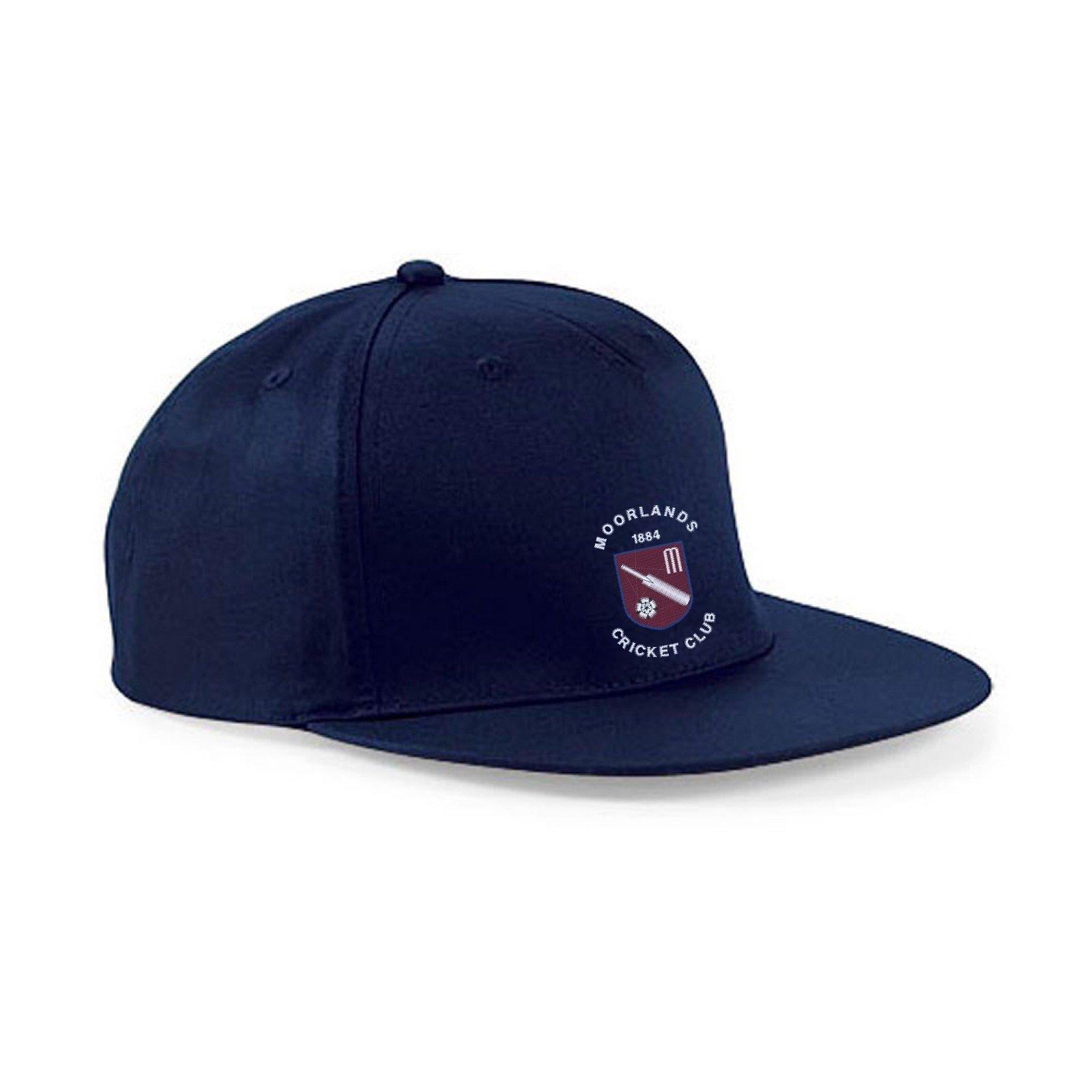 Moorlands CC Navy Snapback Hat