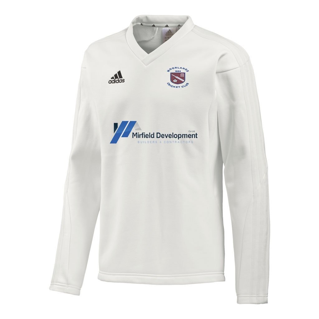 Moorlands CC Adidas 1XI L-S Playing Sweater