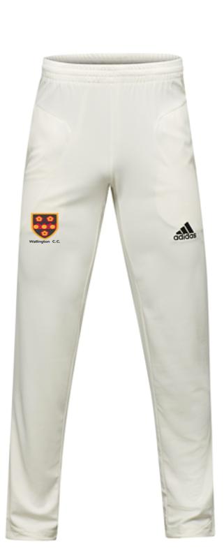 Wallington CC Adidas Pro Junior Playing Trousers