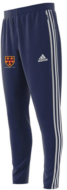 Wallington CC Adidas Junior Navy Training Pants